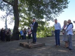 Discours d'inauguration de Gérard Abonneau, Président de la FFMJC au Château de Saumur