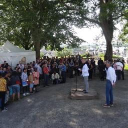 Réception officielle au Château de Saumur